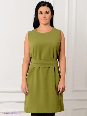 Платье SISTE'S. Цвет: зеленый