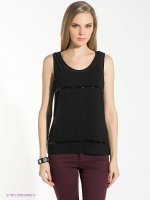 Топ Vero moda. Цвет: черный