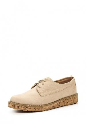 Ботинки Sweet Shoes. Цвет: бежевый