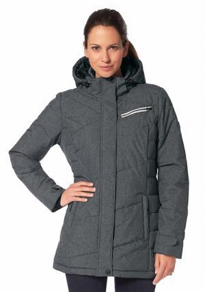 Куртка POLARINO. Цвет: серый