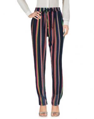Повседневные брюки PÉRO. Цвет: темно-синий