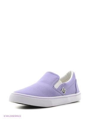 Слипоны 4U. Цвет: сиреневый, фиолетовый, сливовый