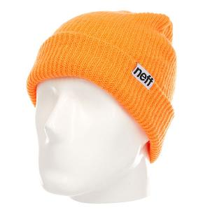 Шапка  Fold Orange Neff. Цвет: оранжевый