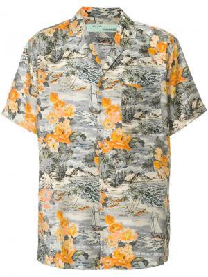 Рубашка с короткими рукавами Off-White. Цвет: многоцветный