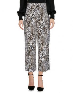 Повседневные брюки ELISABETTA FRANCHI. Цвет: слоновая кость