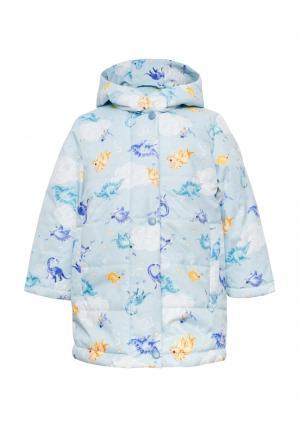 Куртка утепленная Beebeep. Цвет: голубой