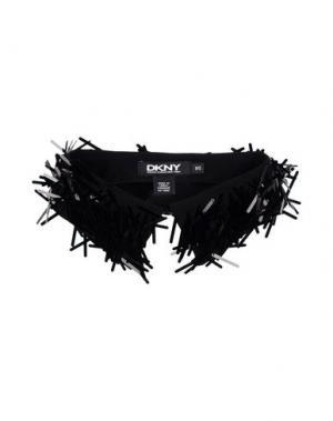 Воротник DKNY. Цвет: черный