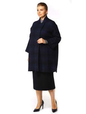 Пальто SHE'SSO. Цвет: синий