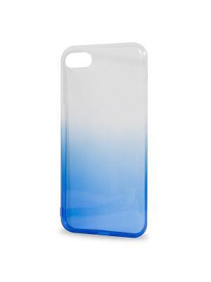 Крышка задняя для iphone 7 силикон IQ Format. Цвет: синий