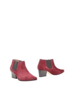 Полусапоги и высокие ботинки AVRIL GAU. Цвет: пурпурный
