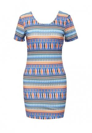Платье Bruebeck. Цвет: синий