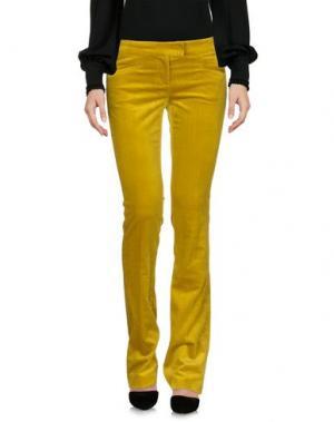 Повседневные брюки TRUE ROYAL. Цвет: кислотно-зеленый