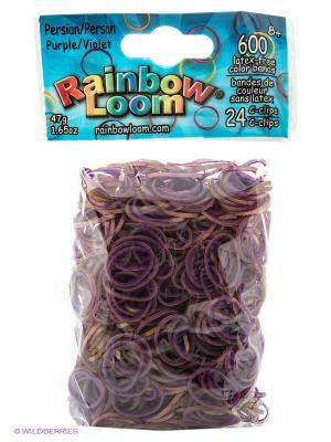 Резиночки Фиолетовый. Персидская коллекция RAINBOWLOOM. Цвет: фиолетовый