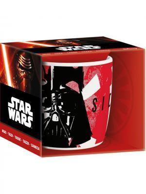 Кружка керамическая в подарочной упаковке (350 мл). Звёздные войны Stor. Цвет: красный, черный