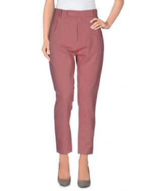 Повседневные брюки NOVEMB3R. Цвет: пастельно-розовый
