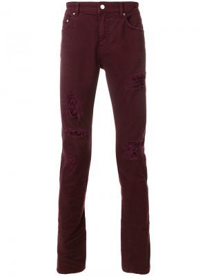 Классические джинсы Super Légère. Цвет: розовый и фиолетовый