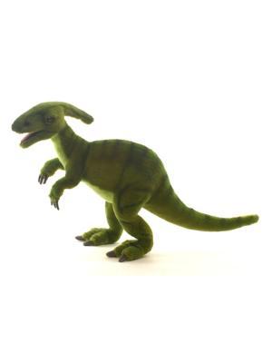 Динозавр Паразауролоф, 52 см. Hansa. Цвет: темно-зеленый