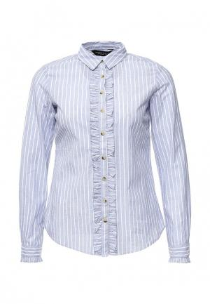 Рубашка Dorothy Perkins. Цвет: синий