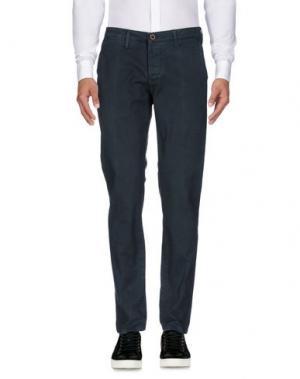 Повседневные брюки ZERO. Цвет: свинцово-серый