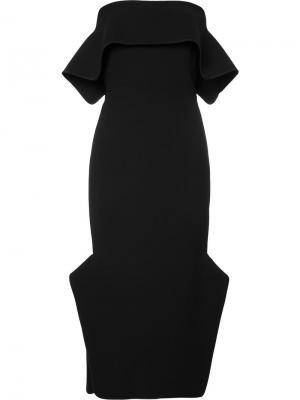 Платье Du-Jour Maticevski. Цвет: чёрный