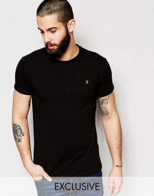 Farah Эластичная футболка эксклюзивно для. Цвет: черный