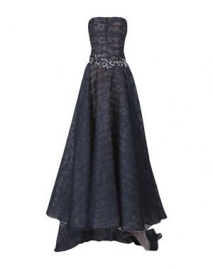 Длинное платье CAILAN'D. Цвет: темно-синий