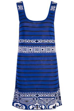 Платье Emilio Pucci. Цвет: синий