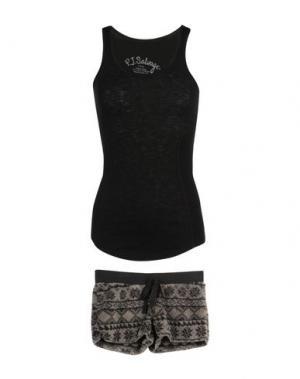 Пижама P.J. SALVAGE. Цвет: черный