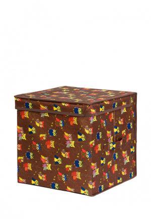 Система хранения El Casa. Цвет: коричневый