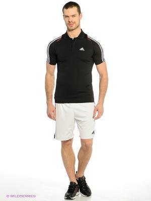 Шорты TIRO 13 SHO Adidas. Цвет: белый, черный