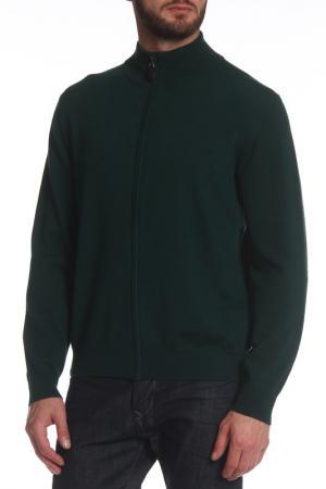 Кардиган PREMISE. Цвет: зеленый