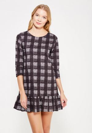 Платье Compania Fantastica. Цвет: черно-белый