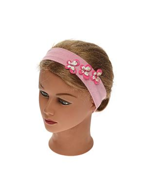 Повязка Jane Flo. Цвет: розовый