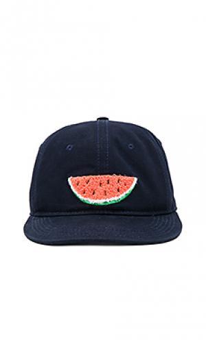 Шляпа melon Ambsn. Цвет: синий