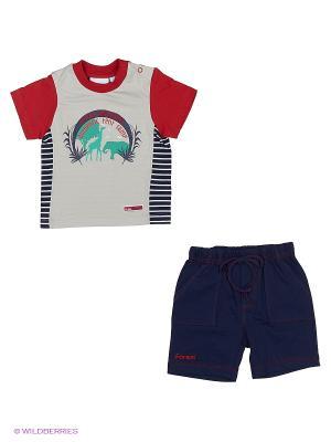 Комплект одежды WWW. Цвет: серый