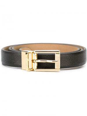 Классический ремень Dolce & Gabbana. Цвет: чёрный