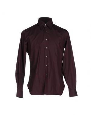 Pубашка INGRAM. Цвет: красно-коричневый