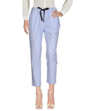 Повседневные брюки HOPPER. Цвет: небесно-голубой