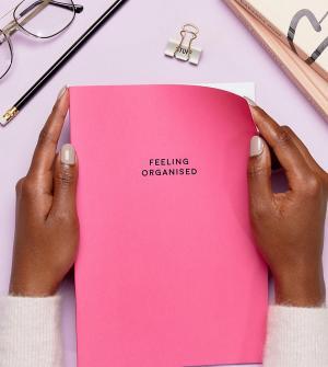 OHH DEER Ярко-розовый блокнот формата A4. Цвет: мульти