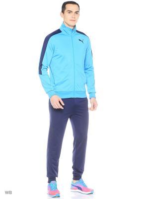 Костюм спортивный  Line Suit Tricot Puma. Цвет: лазурный