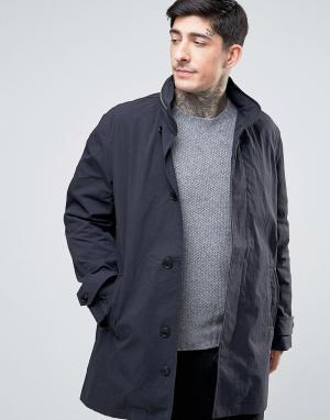 YMC Пальто с капюшоном. Цвет: черный