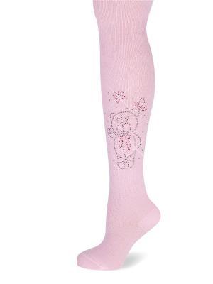 Колготки LARMINI. Цвет: розовый
