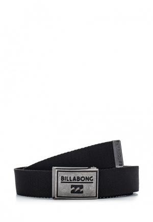 Ремень Billabong. Цвет: черный