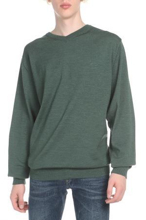 Пуловер Paul & Shark. Цвет: зеленый