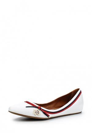 Туфли Bigtora. Цвет: белый