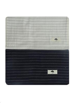 Набор полотенец A and C Collection. Цвет: белый,черный