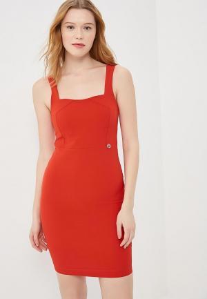 Платье Met. Цвет: красный