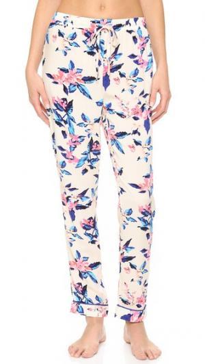 Пижамные брюки Secret Forest MINKPINK. Цвет: мульти