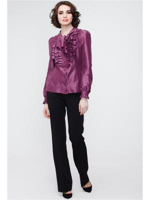 Блузка VICTORIA VEISBRUT. Цвет: лиловый