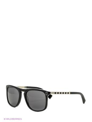 Солнцезащитные очки BLD 1622 101 Baldinini. Цвет: черный, серебристый